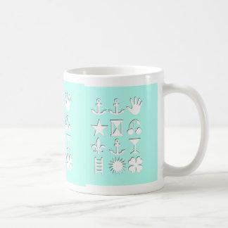 Verschlüsselte Mitteilungs-Freundschafts-Tasse Kaffeetasse