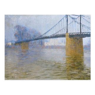 Verschobene Brücke Gustave Loiseau- bei Triel Postkarten