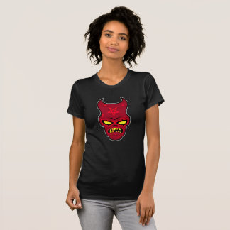 Verschrobe Dämon-Illustration T-Shirt