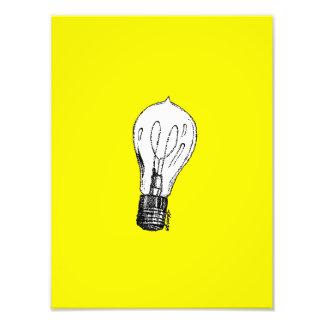 Verschütten Sie ein wenig Licht Fotodruck