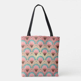 Verschwenderische Lilien-Taschen-Tasche Tasche