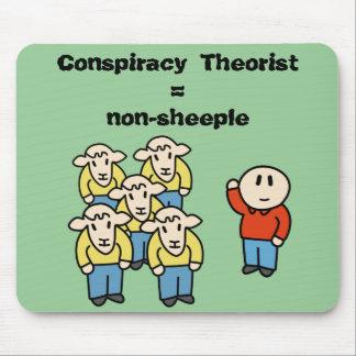 Verschwörung Theoretiker = non-sheeple Mauspads