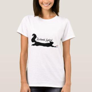 Versehentliches Eichhörnchen-Logo - Schwarzes T-Shirt