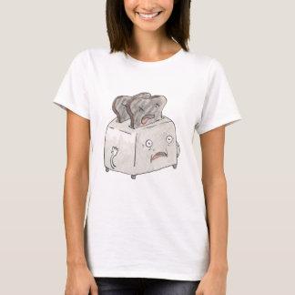 Versehentliches Toast-T-Stück T-Shirt