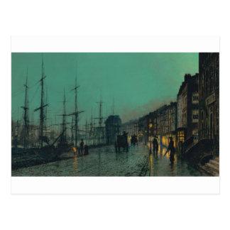 Versenden auf dem Clyde durch John Atkinson Postkarte