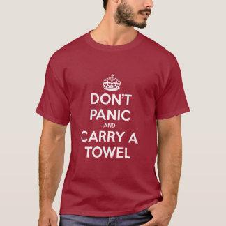 Versetzen Sie nicht in Panik und tragen Sie ein T-Shirt
