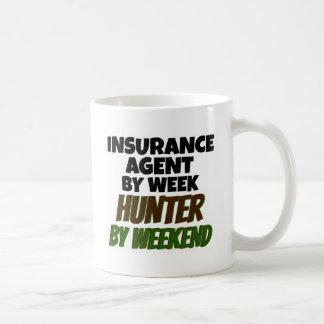 Versicherungs-Agent-Liebe-Jagd Kaffeetasse