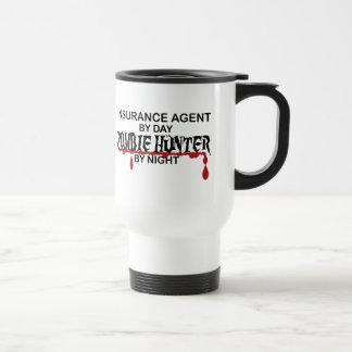 Versicherungs-Agent-Zombie-Jäger Reisebecher