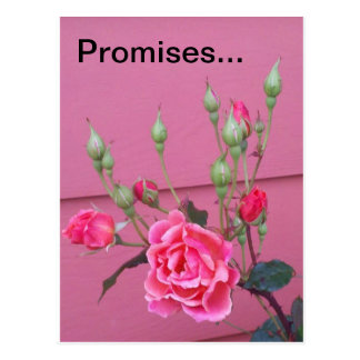 Versprechen Postkarte
