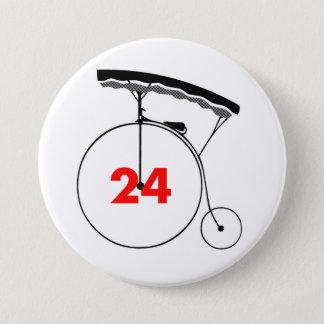 Verstand-Leser 24 Runder Button 7,6 Cm