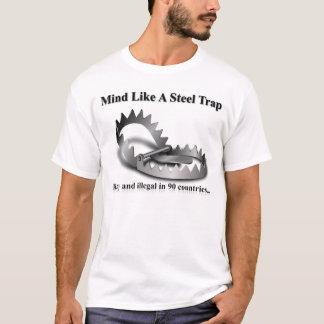 Verstand mag eine Stahlfalle - rostig und illegal T-Shirt