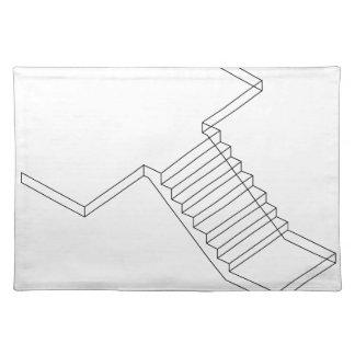 Verstärkte Zement-Betontreppe Tisch Set