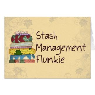 Versteck-Management Flunkie Karte