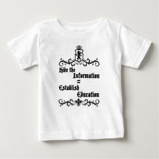 Verstecken Sie die Informationen herstellen Baby T-shirt