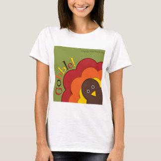 Versteckender Truthahn des Erntedanks T-Shirt