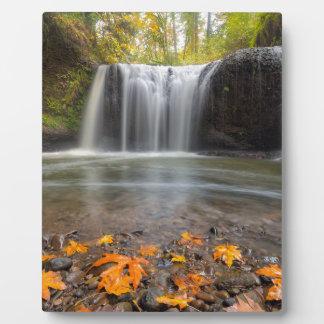 Versteckte Fälle in Clackamas Oregon Herbstsaison Fotoplatte