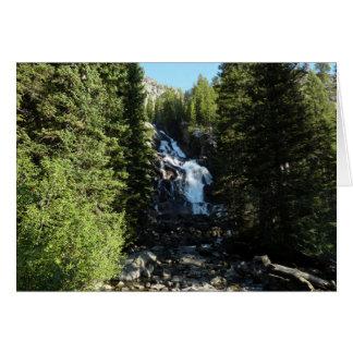 Versteckte Fälle in großartigen Teton Nationalpark Karte
