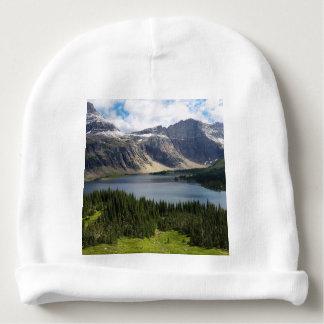 Versteckter See übersehen Glacier Nationalpark Babymütze