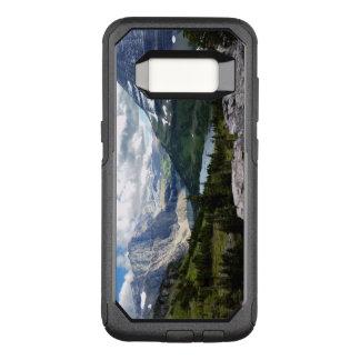 Versteckter See übersehen Glacier Nationalpark OtterBox Commuter Samsung Galaxy S8 Hülle