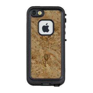 Versteinerter Marmorierungblick Browns LifeProof FRÄ' iPhone SE/5/5s Hülle