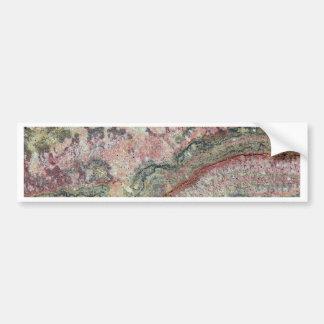 Versteinertes Stromatolites Autoaufkleber