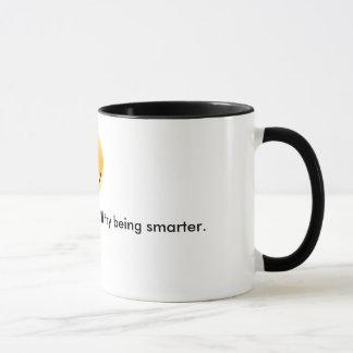 Versuch, der… intelligenter ist tasse
