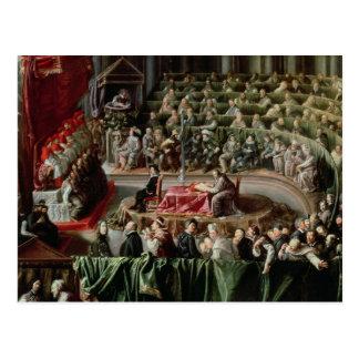 Versuch von Galileo, 1633 Postkarte