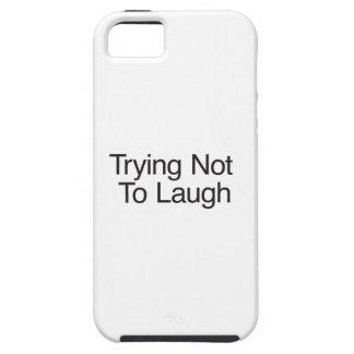 Versuchen nicht zu lachen iPhone 5 cover