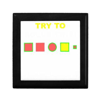 Versuchen Sie, dieses zu lösen: Erinnerungskiste
