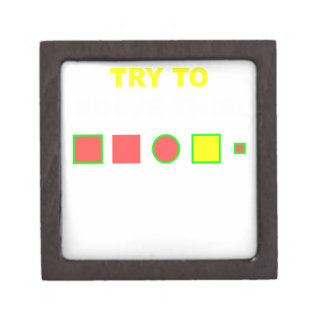 Versuchen Sie, dieses zu lösen: Schmuckkiste