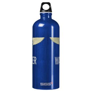 Versuchsblau Wasserflasche