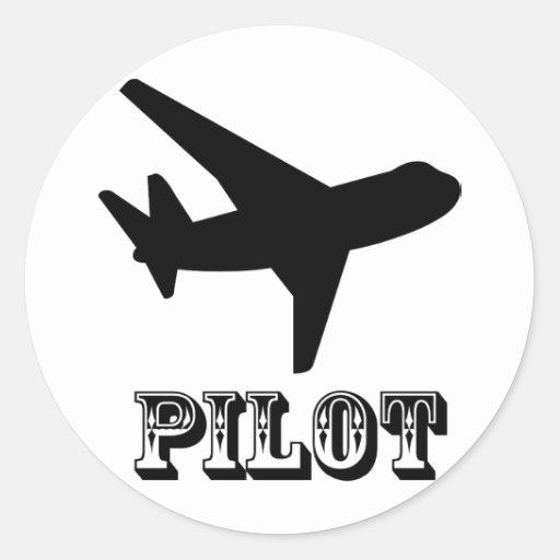 Versuchsentwurf! Coole Geschenke des Flugzeuges! Runde Sticker
