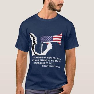 Verteidigen Sie Redefreiheit T T-Shirt