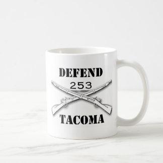 verteidigen Sie Tacoma Kaffeetasse