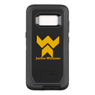 Verteidiger-Reihe Jackie Williams OtterBox Defender Samsung Galaxy S8 Hülle