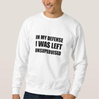 Verteidigungs-links unüberwachtes sweatshirt