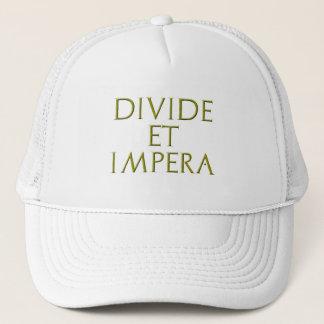 Verteilung und Impera Hut Truckerkappe