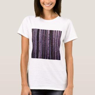 vertikale Baumlinien T-Shirt