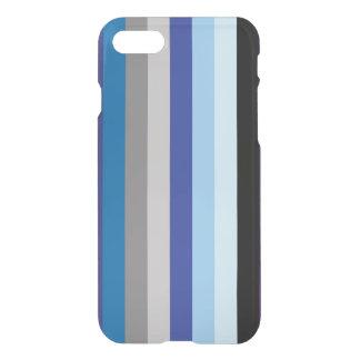 Vertikale Streifen in den Winter-Farben iPhone 8/7 Hülle