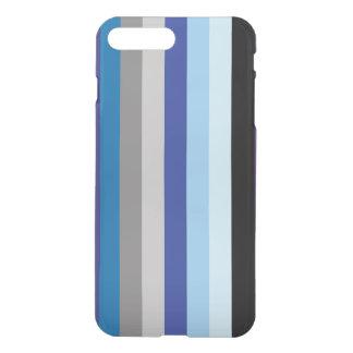 Vertikale Streifen in den Winter-Farben iPhone 8 Plus/7 Plus Hülle
