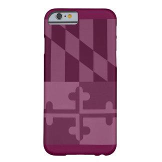 (Vertikaler) Telefonkasten Maryland-Flagge - Barely There iPhone 6 Hülle