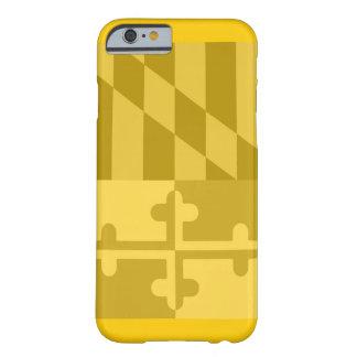 (Vertikaler) Telefonkasten Maryland-Flagge - Gelb Barely There iPhone 6 Hülle