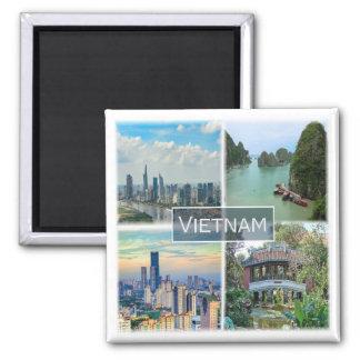 Vertikalnavigation * Vietnam Quadratischer Magnet