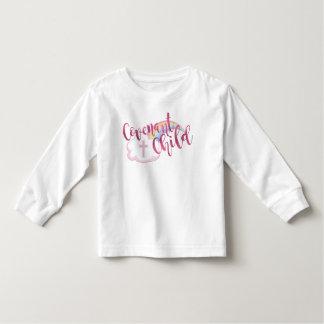 """""""Vertrag-Kinder"""" Kleinkind-langes Hülsen-T-Stück Kleinkind T-shirt"""