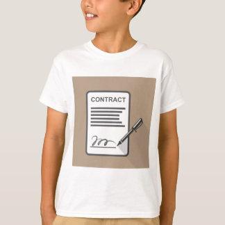 Vertrags-Ikone T-Shirt