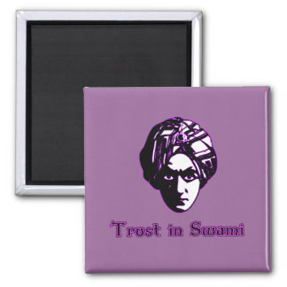 Vertrauen in den Swami-T-Shirts, Kapuzenpullis, Re Kühlschrankmagnet