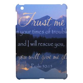 Vertrauen in mir zuzeiten des Problem-Psalm-50:15 iPad Mini Hülle