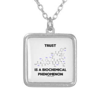 Vertrauen ist ein biochemisches Phänomen Versilberte Kette
