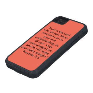 """""""Vertrauen Sie auf den Lord"""" Iphone 5/5S und Tough Xtreme iPhone 5 Hülle"""