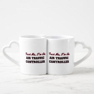 Vertrauen Sie, dass ich ich ein Fluglotse bin Partnertassen